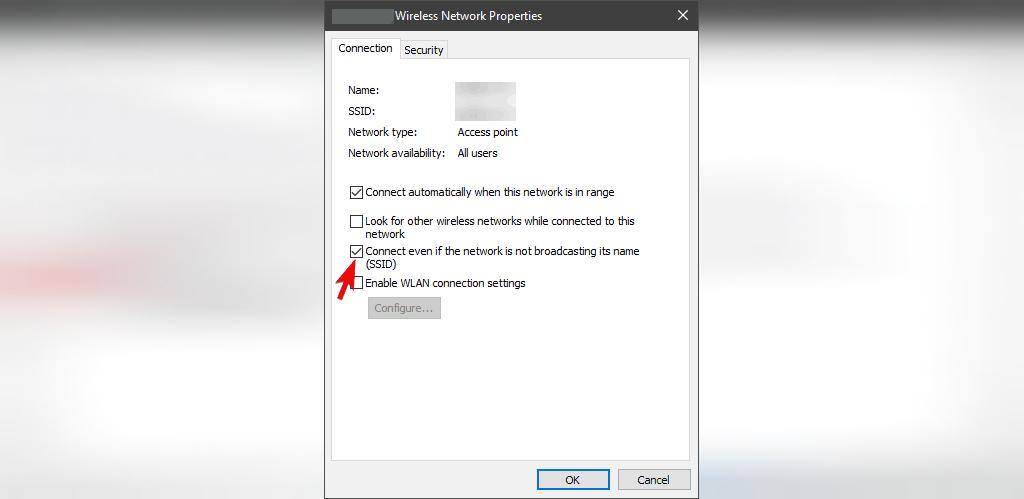 آموزش وصل شدن به وای فای مخفی در ویندوز 10