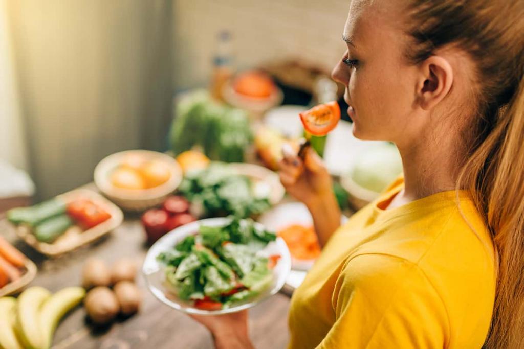 مصرف غذاهای سرد برای دختر دار شدن