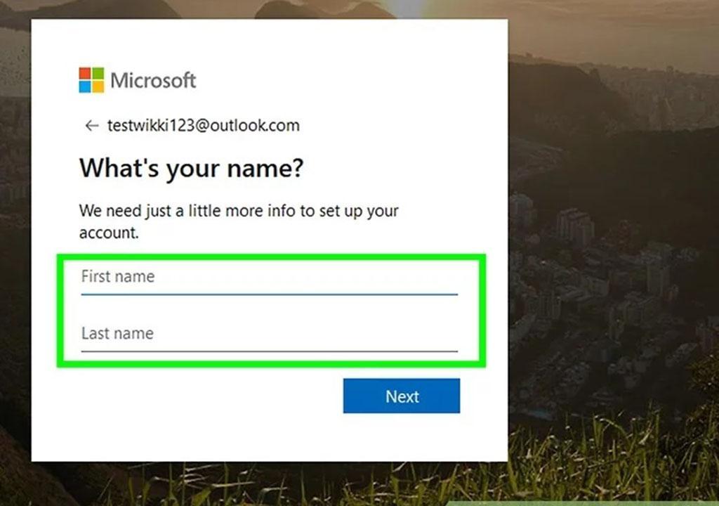 آموزش ساخت اکانت مایکروسافت در ویندوز 10