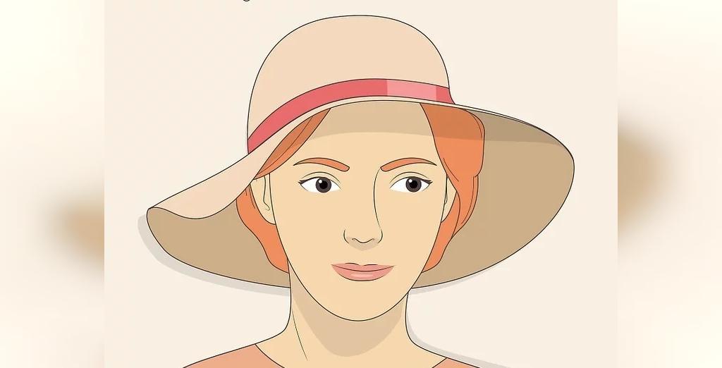انتخاب کلاه برای صورت بیضی شکل