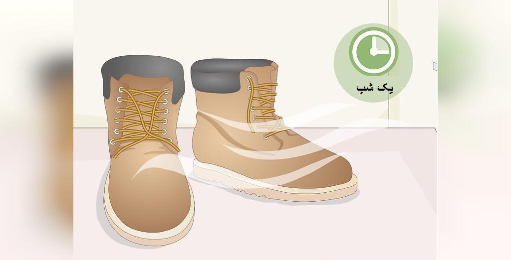 پاک کردن لکه ها از روی کفش نبوک