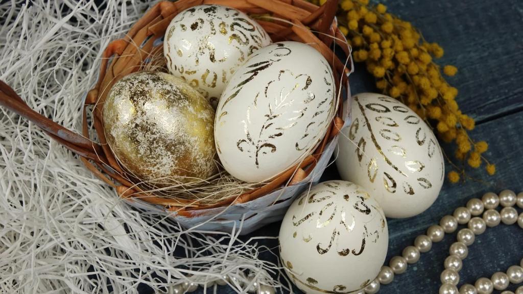 تخم مرغ طلایی برای عید