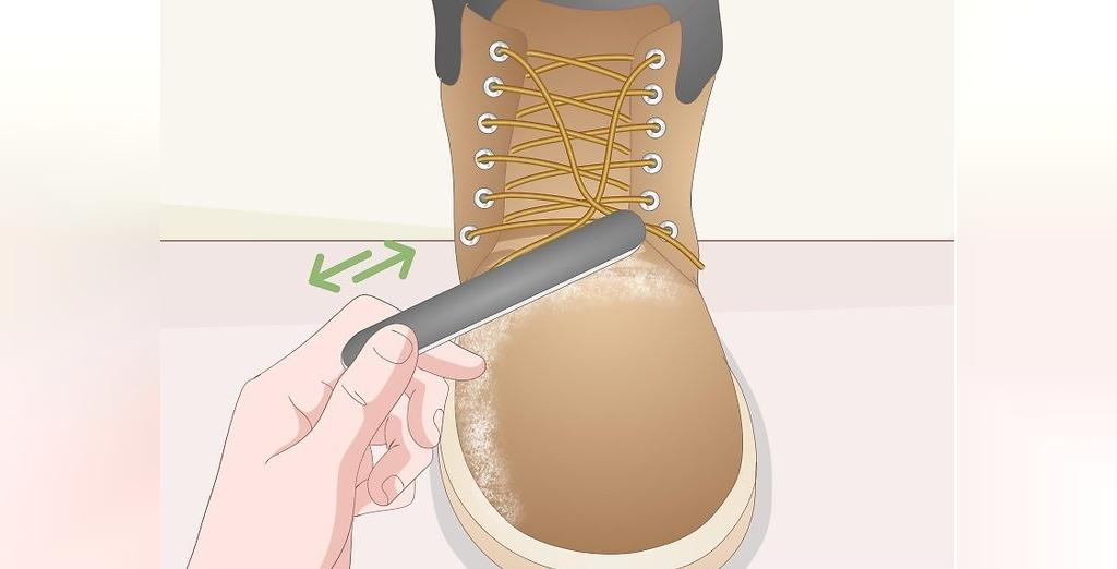 روش های برطرف کردن لکه از کفش های نبوک