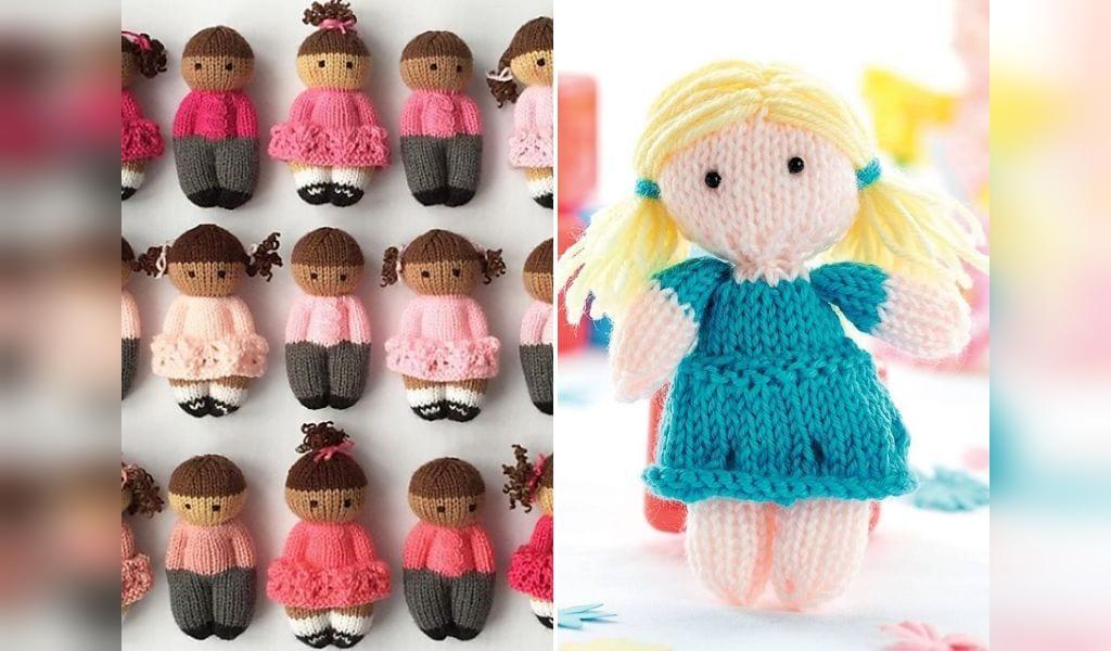 مدل عروسک بافتنی دخترانه و پسرانه