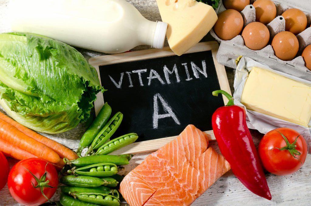 منابع غذایی سرشار از ویتامین A  برای درمان جوش نوجوانی