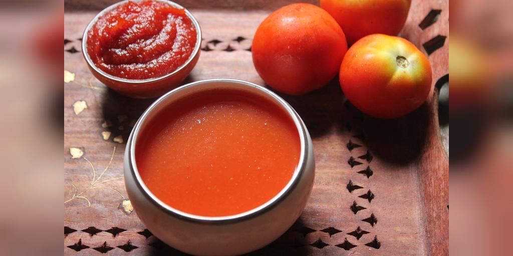 طرز تهیه آب گوجه فرنگی خانگی