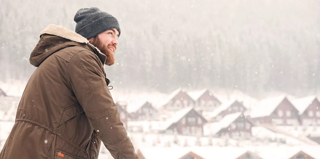 عکس پروفایل پسرانه طبیعت زمستان