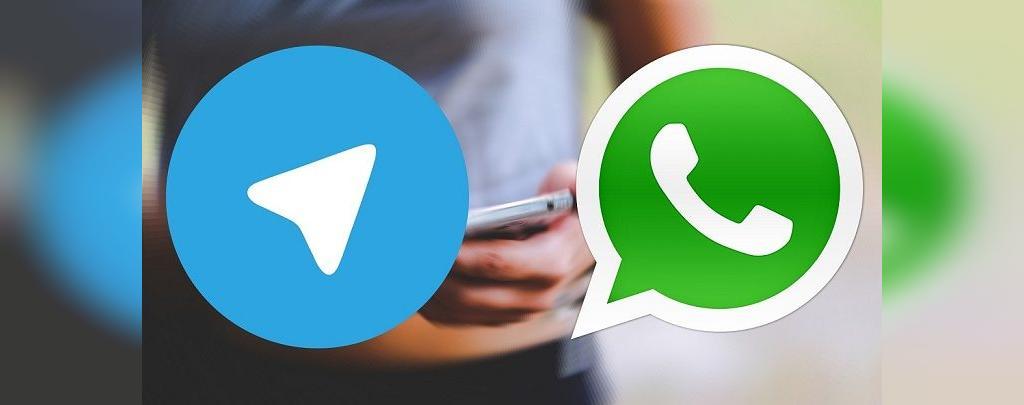 انتقال پیام از تلگرام به واتس آپ در نسخه های اندروید: