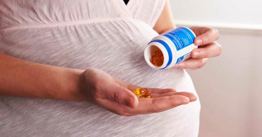 مکمل امگا 3 در دوران بارداری ویژه رژیم غذایی وگان