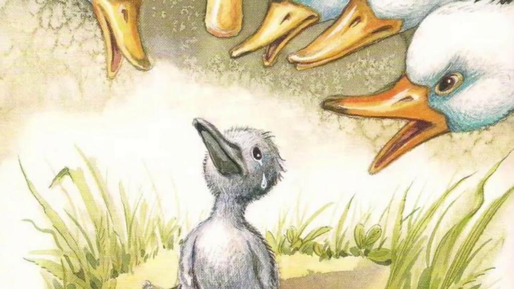 قصه جوجه اردک زشت برای کودکان