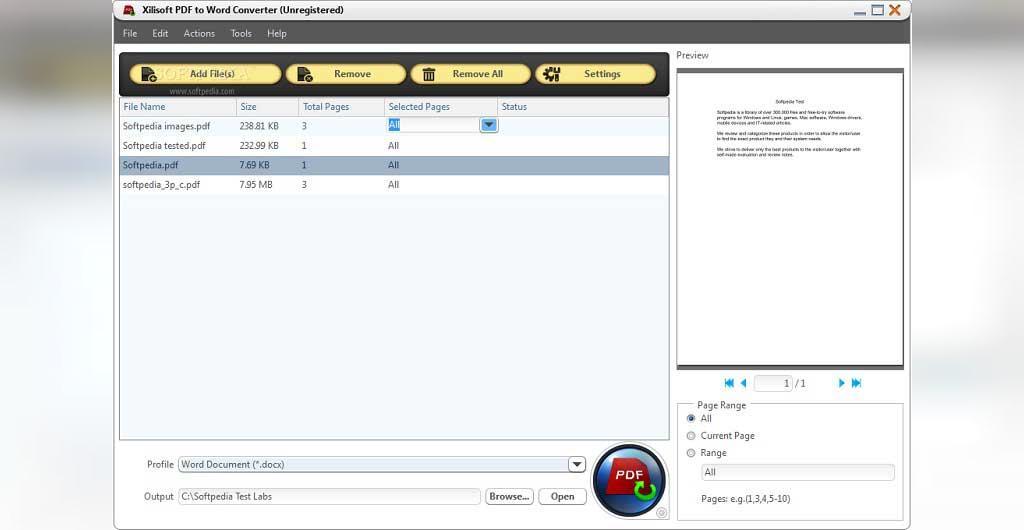 مبدل Xilisoft Converter PDF
