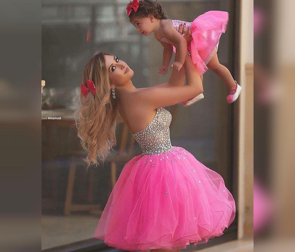 ست لباس مجلسی شیک مادر و دختر