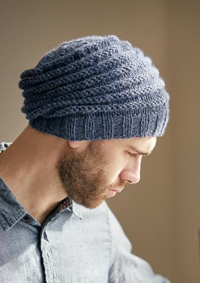 مدل کلاه بافتنی مردانه خنگی
