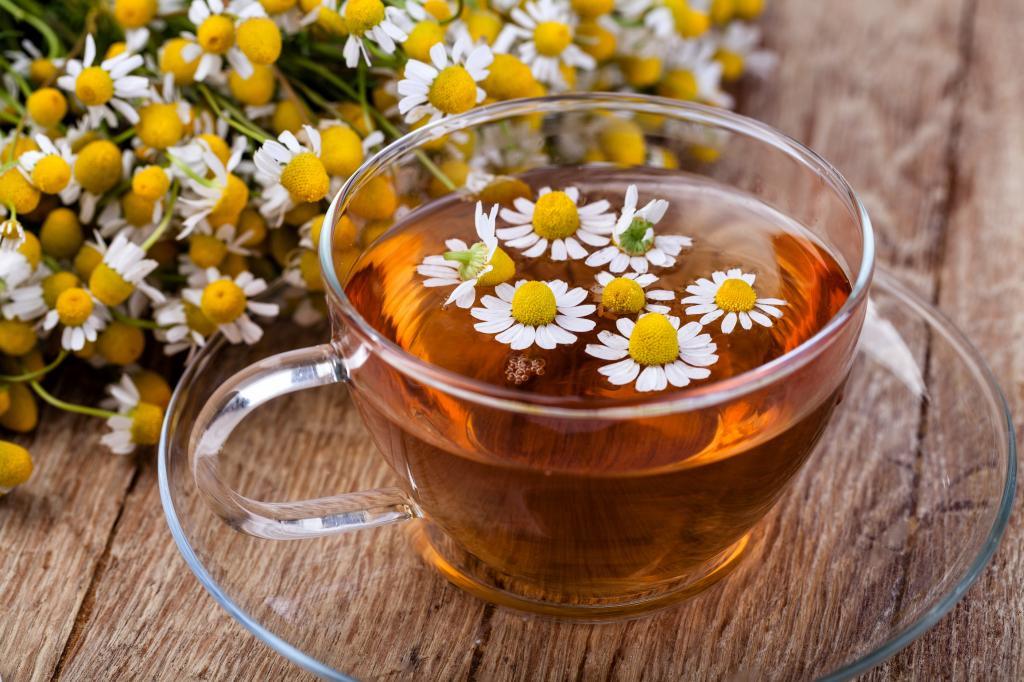 چای بابونه برای سم زدایی بدن
