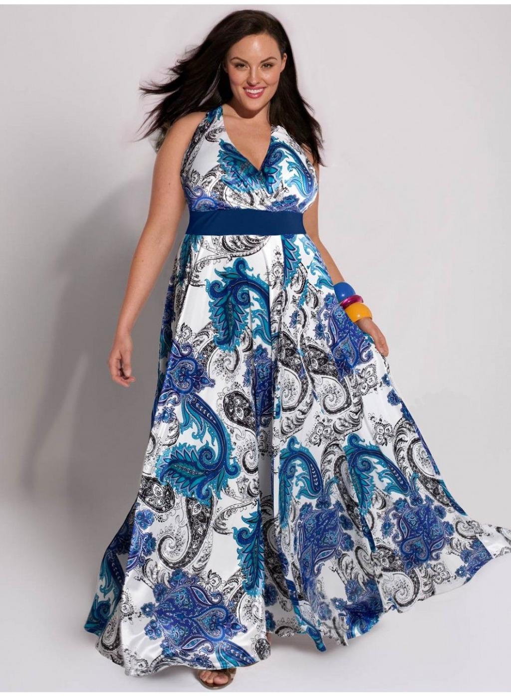 مدل سارافون شیک برای خانم های با سایز بزرگ