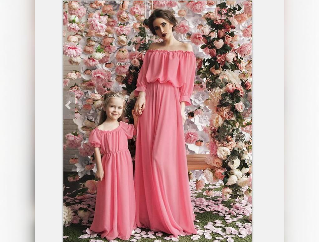 ست لباس مادر و دختر مخصوص عروسی