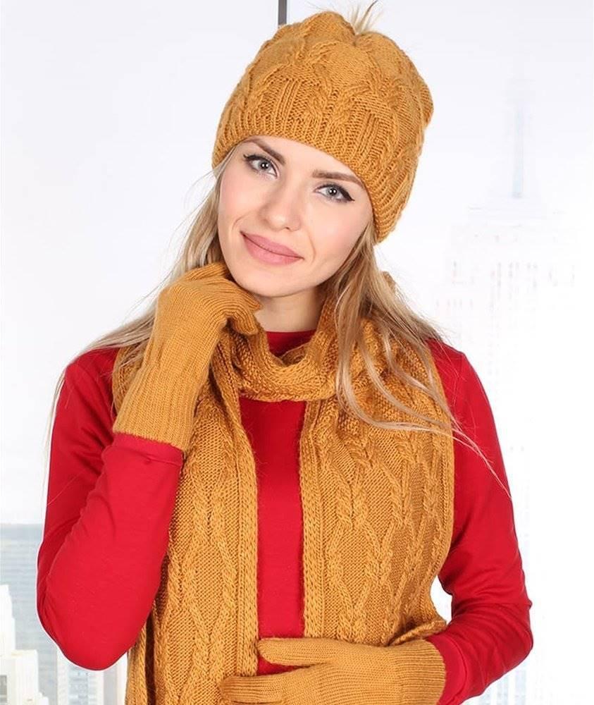مدل شال و کلاه بافتنی دخترانه جدید با قلاب