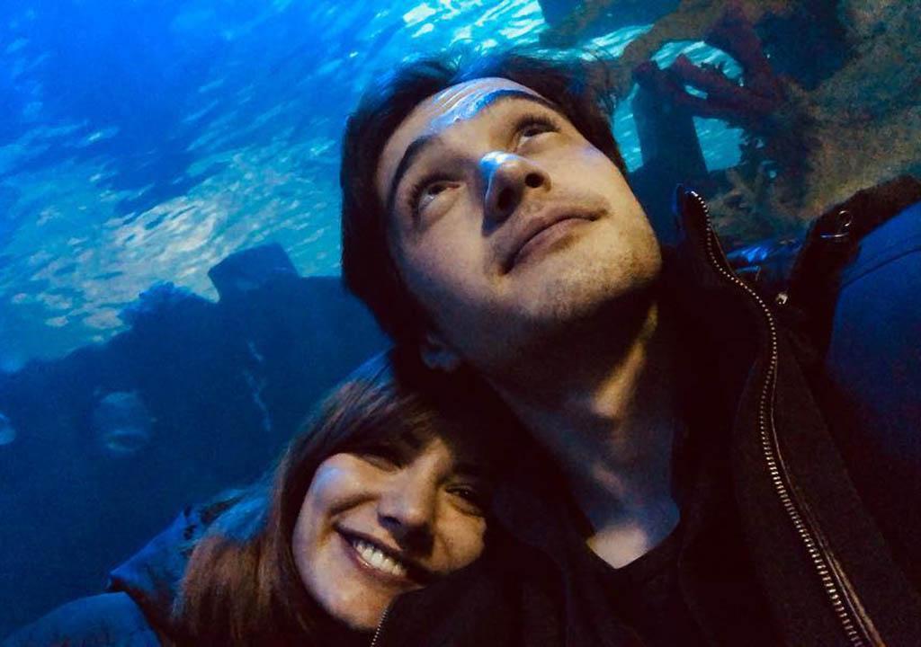 بوراک داکاک و دوست دخترش