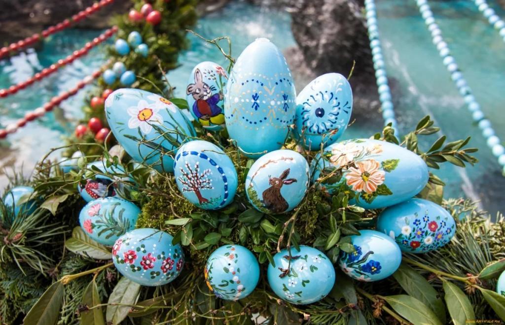 رنگ آمیزی تخمه مرغ عید