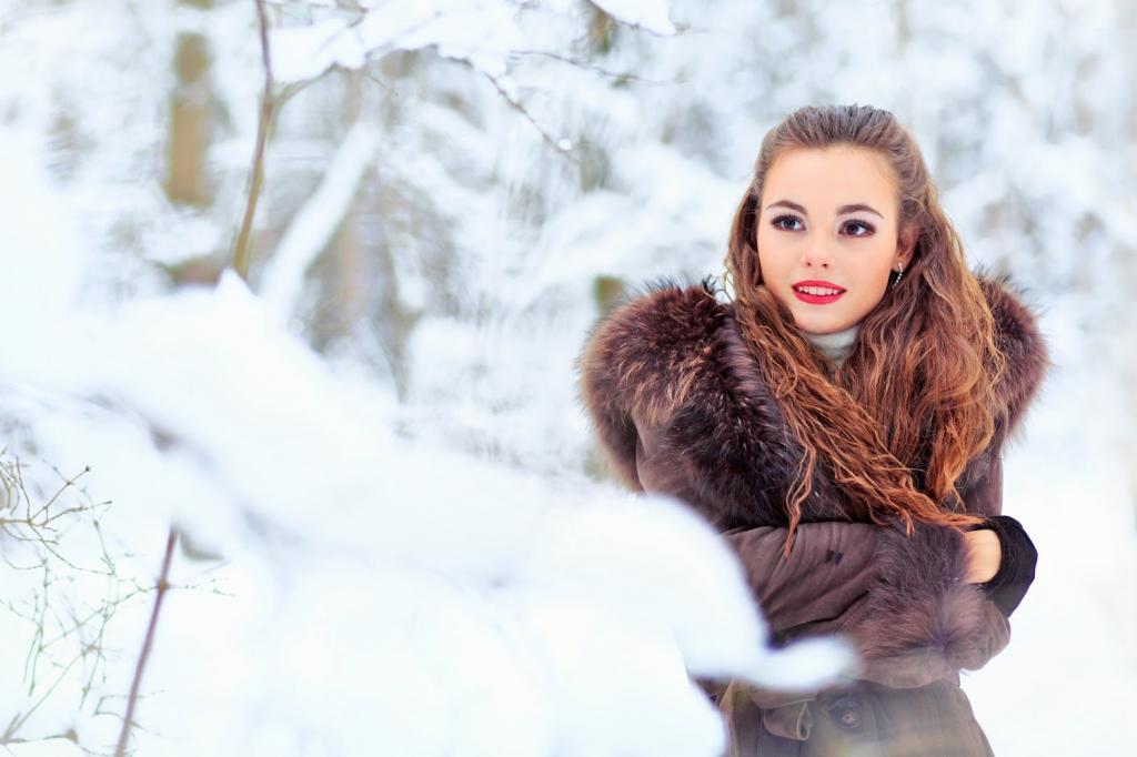 عکس دختر پروفایل زمستانی اینستا
