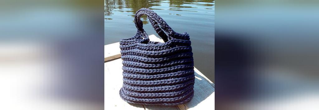 اموزش کیف بافتنی جدید زیبا