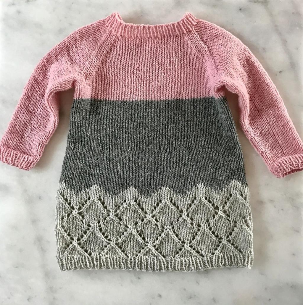 مدل لباس دستباف دخترانه چند رنگ