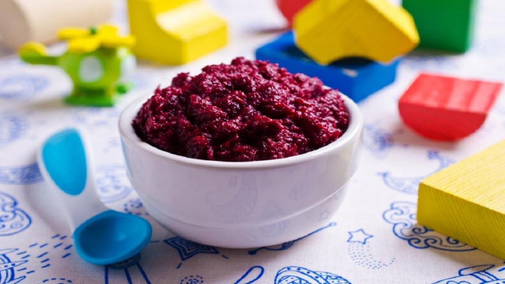 طرز تهیه پوره چغندر [لبو] برای نوزاد خوشمزه و مقوی