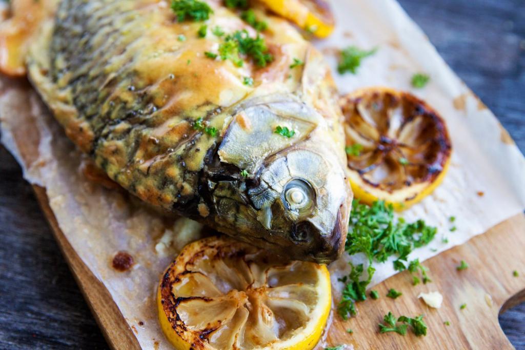 ماهی کپور خوراکی کریسمس