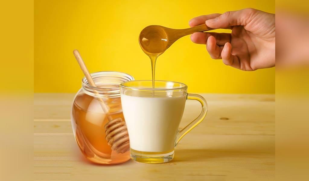 شیر و عسل برای درمان بی خوابی