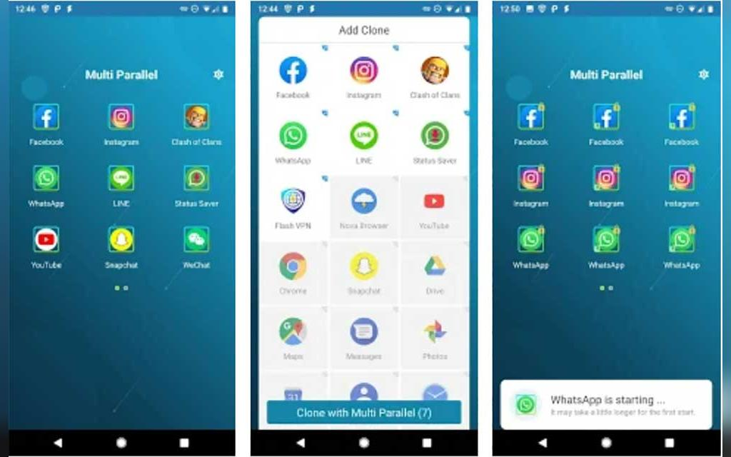 ساده ترین روش اجرای 2 اکانت واتساپ روی یک گوشی