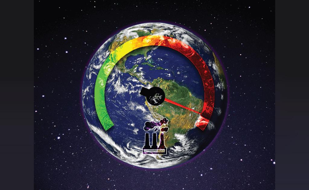 گازهای گلخانه ایی و گرم شدن کره زمین