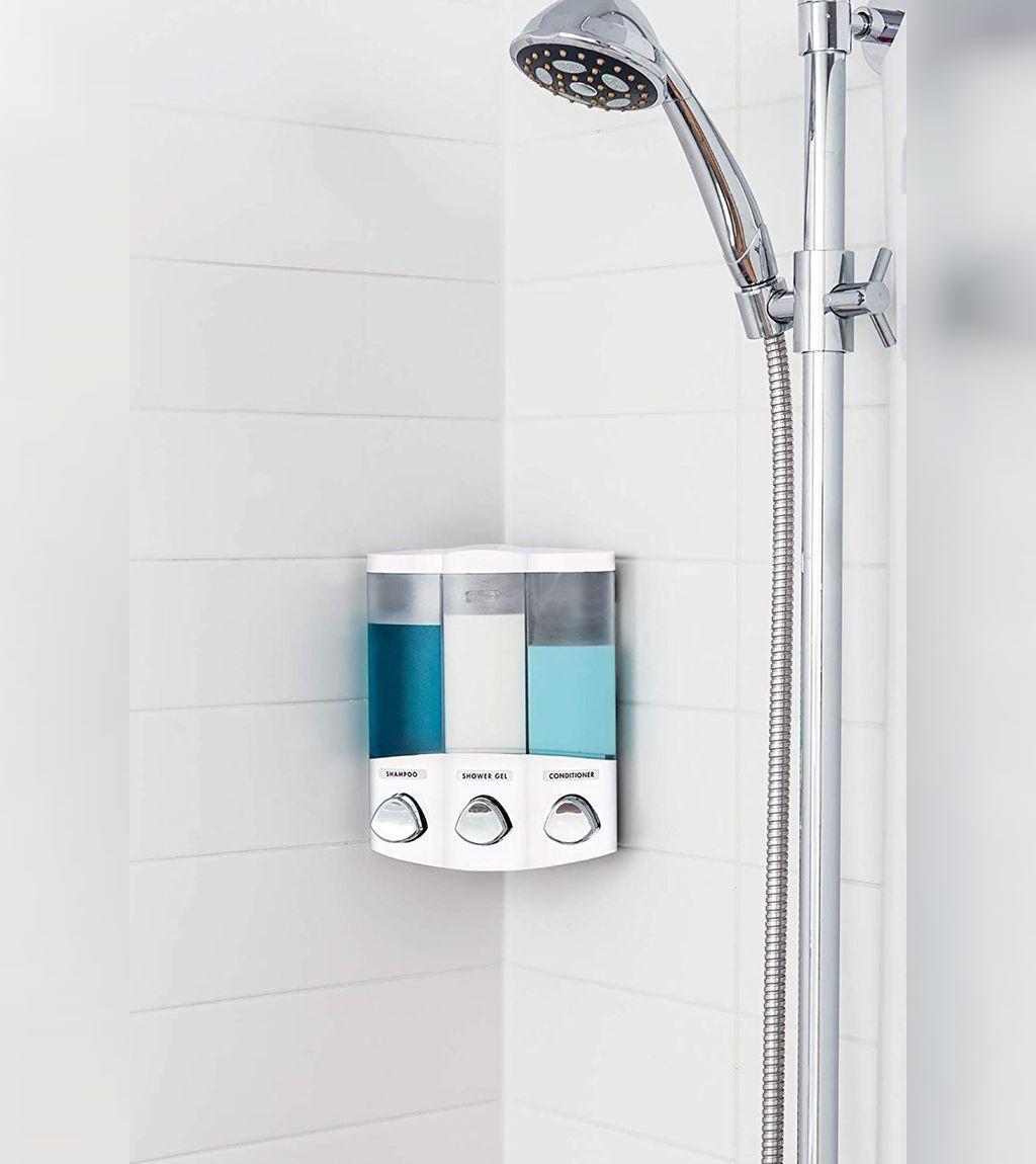 ایده ای عالی برای استفاده راحتر از شوینده ها در حمام