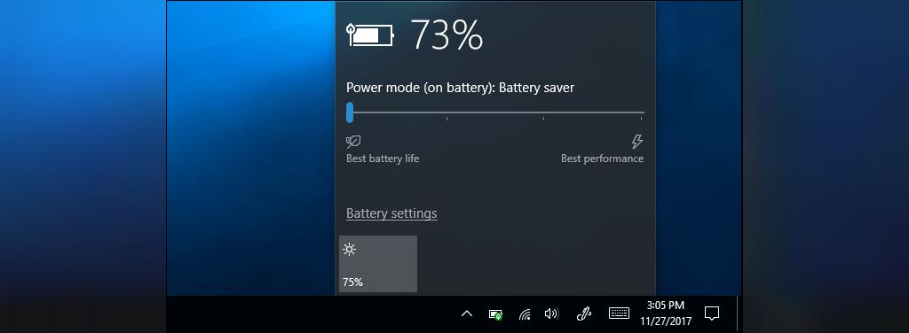 افزایش طول عمر باتری لپ تاپ در ویندوز 10