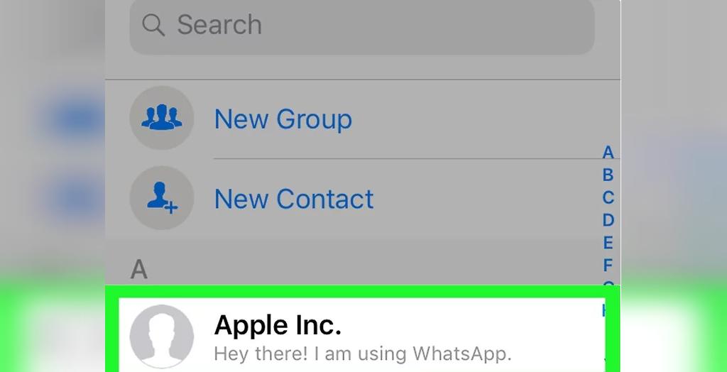 روش پیدا کردن دوستان در واتس آپ با شماره تلفن