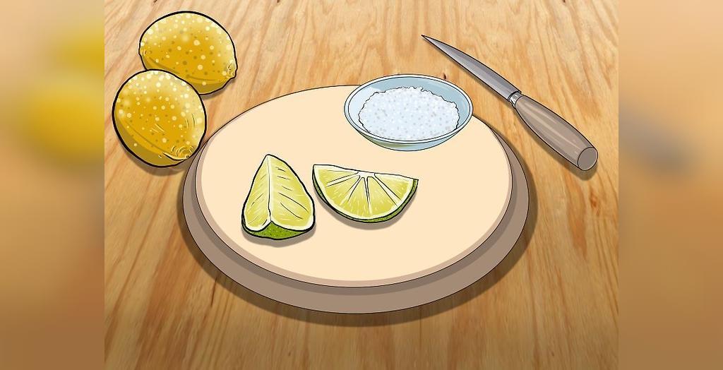 تمیز کردن ظروف مسی با نمک