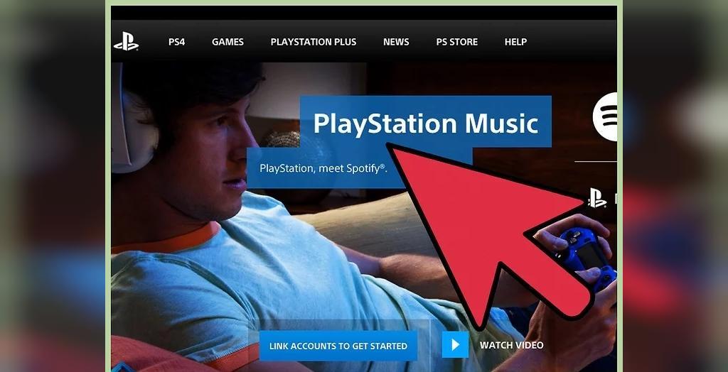 پخش موزیک از طریق PlayStation Music