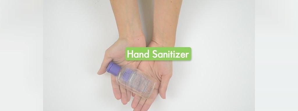 استفاده از ضد عفونی کننده دست