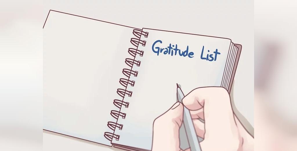 تهیه لیست قدردانی برای پیشگیری از افکار خودکشی