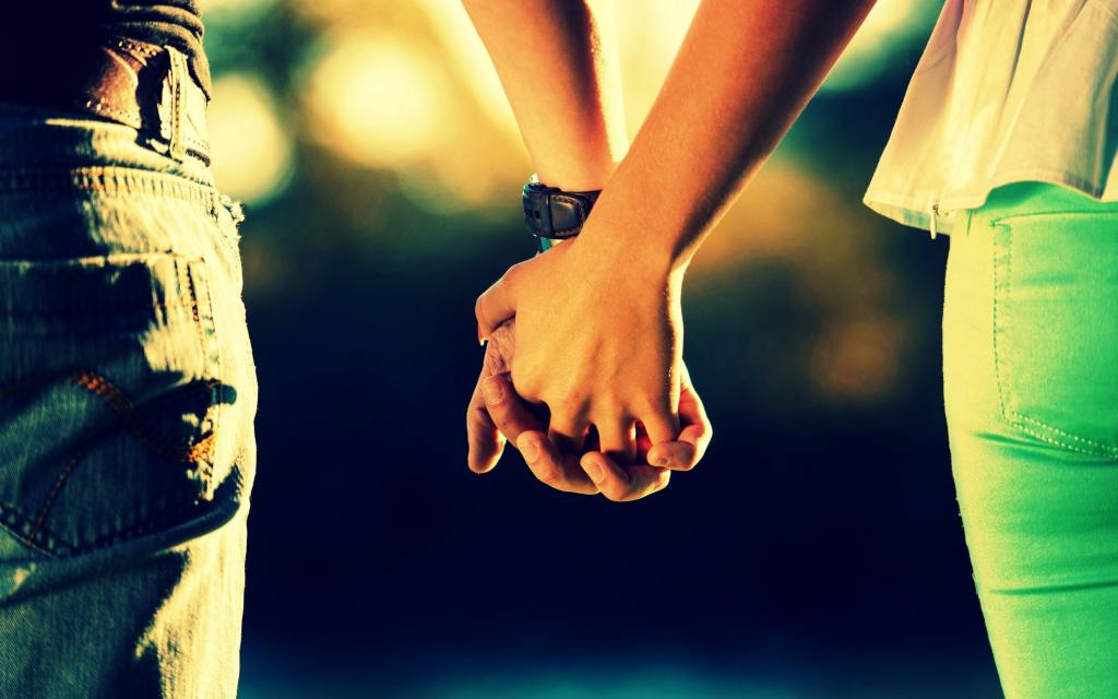 عکس پروفایل دختر و پسر مدل عاشقانه دست در دست