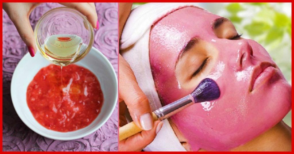 خواص آب انار: ماسک انار برای درخشندگی پوست