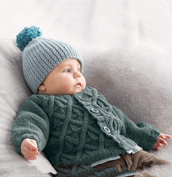 جدیدترین مدل کلاه بافتنی نوزادی پسر