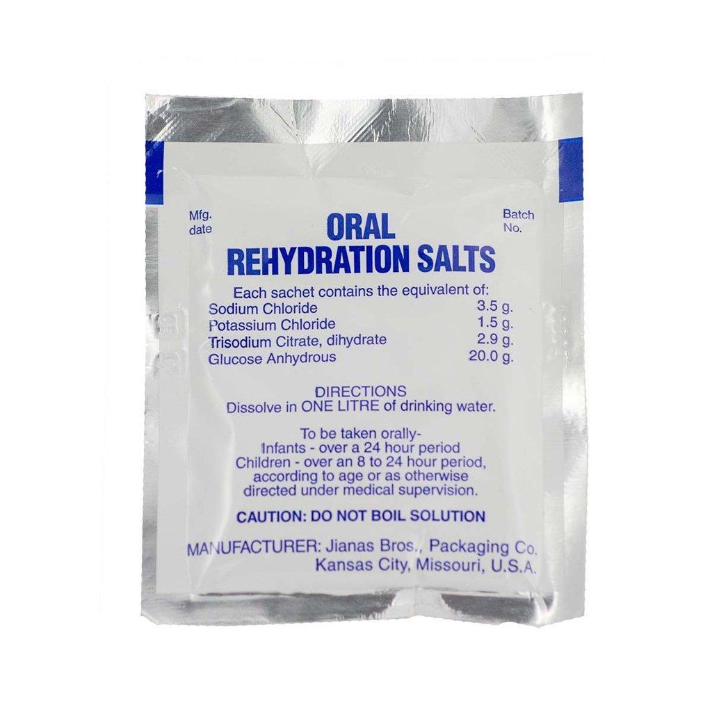 طرز تهیه محلول دارویی ضد اسهال ORS