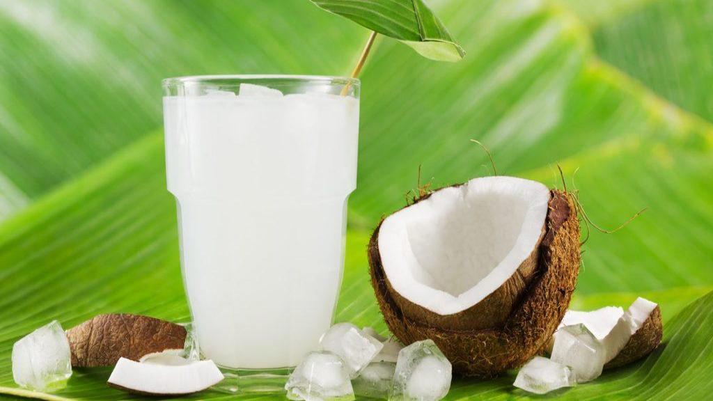 4 فایده آب نارگیل برای سلامتی، تهوع حاملگی و آفت دهان