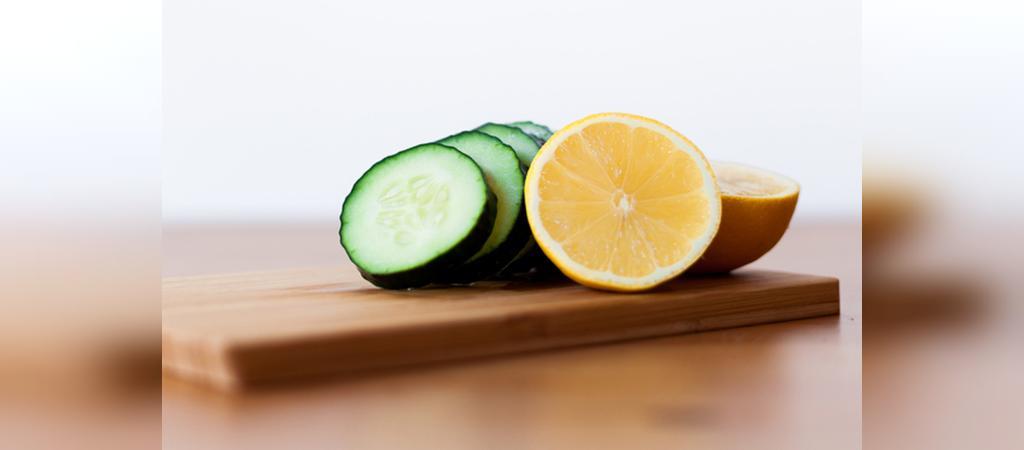 ماسک خیار و لیمو