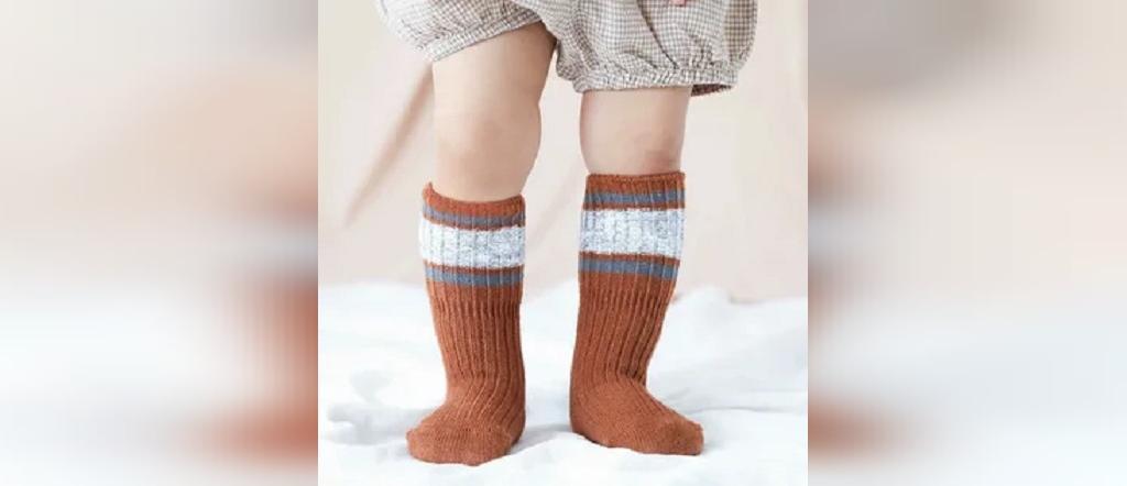 مدل جوراب بافتنی بچه گانه پسرانه