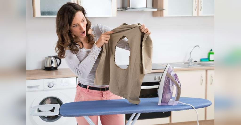 روش صحیح اتو کردن انواع لباس