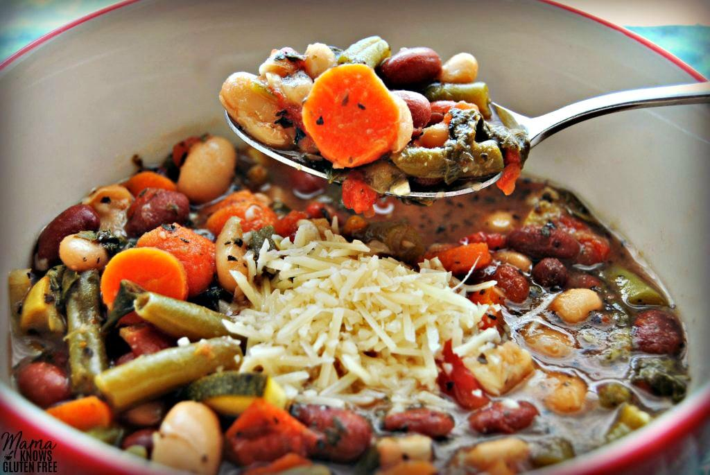 طرز تهیه سوپ سبزیجات ایتالیایی