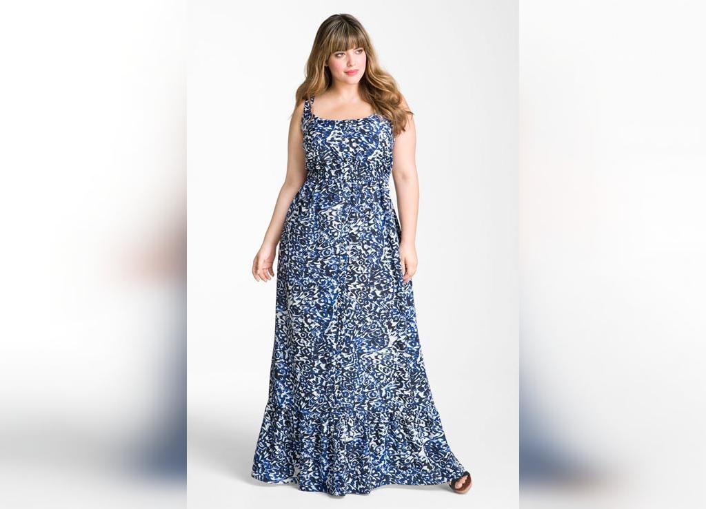 مدل سارافون بلند برای خانم های چاق و سایز بزرگ