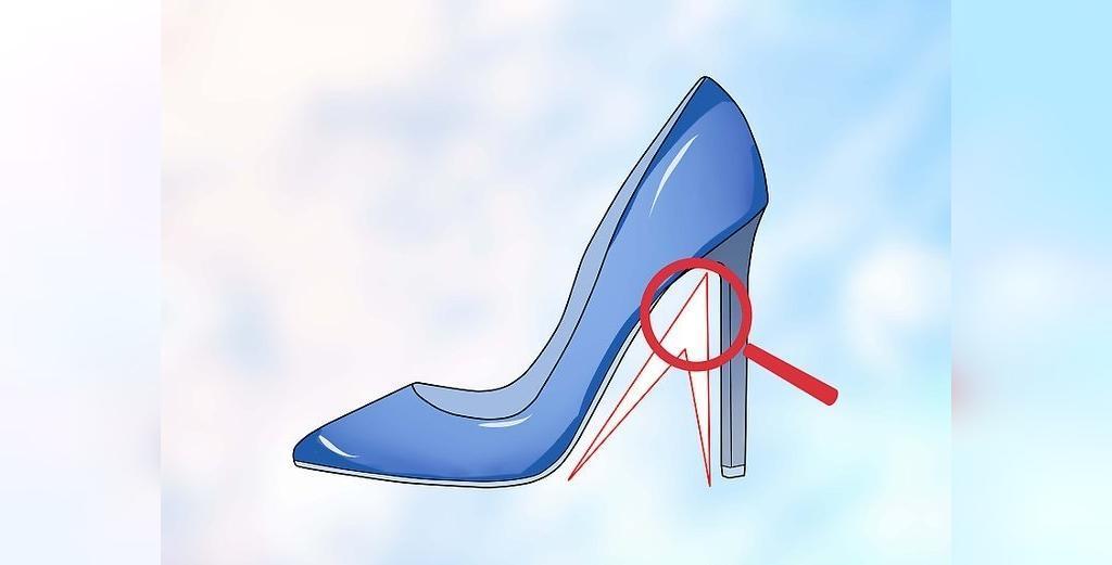 ترفند پوشیدن کفش پاشنه بلند