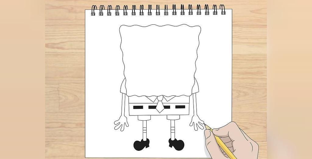 روش کشیدن نقاشی باب اسفنجی برای کودکان
